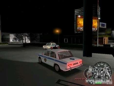 VAZ 2101 Police pour GTA Vice City sur la vue arrière gauche