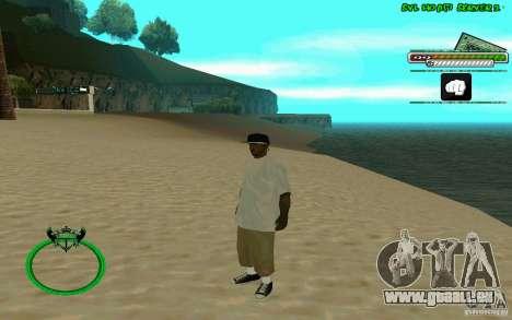 Nigga HD skin pour GTA San Andreas cinquième écran