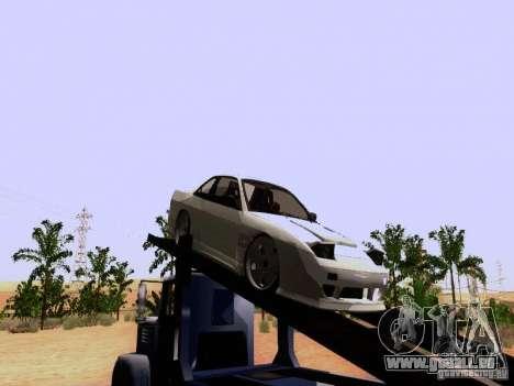 Nissan 240SX (S13) pour GTA San Andreas sur la vue arrière gauche