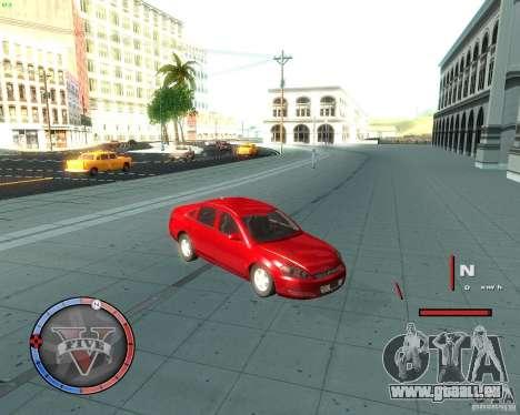 Chevrolet Impala 2008 pour GTA San Andreas