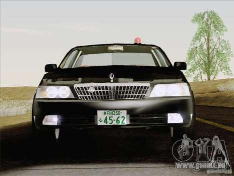 Nissan Laurel GC35 Kouki Unmarked Police Car für GTA San Andreas Innenansicht