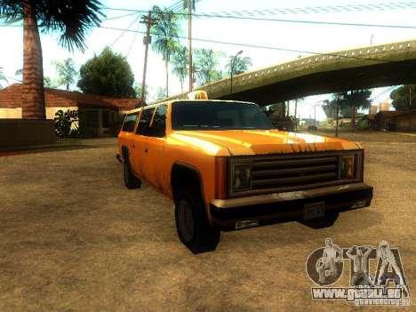 Taxi Rancher für GTA San Andreas