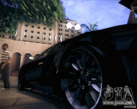 Bugatti Veyron Super Sport pour GTA San Andreas vue de côté