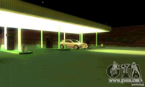 Mercedes-Benz ML500 pour GTA San Andreas vue de dessous
