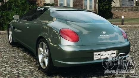 Daewoo Bucrane Concept 1995 für GTA 4 hinten links Ansicht