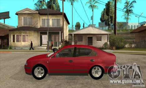 Skoda Octavia für GTA San Andreas linke Ansicht