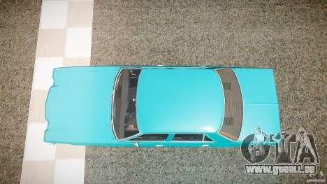 Dodge Aspen v1.1 1979 yellow rear turn signals pour GTA 4 est un droit