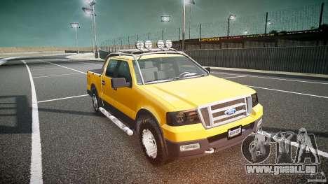 Ford F150 FX4 OffRoad v1.0 für GTA 4 Rückansicht