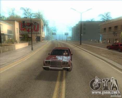 Mes paramètres ENBSeries HD pour GTA San Andreas troisième écran