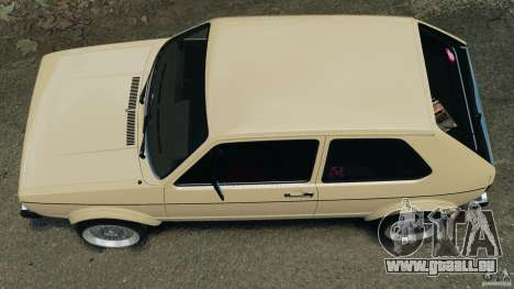 Volkswagen Golf Mk1 Stance für GTA 4 rechte Ansicht