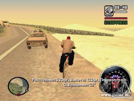 Speed Udo pour GTA San Andreas cinquième écran