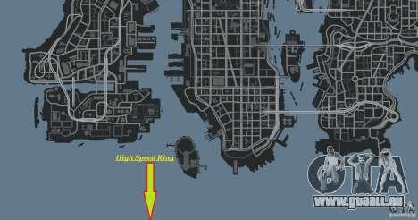 High Speed Ring pour GTA 4 huitième écran