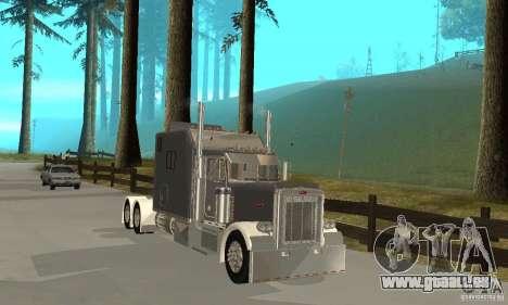 Peterbilt 379 Custom Legacy pour GTA San Andreas laissé vue