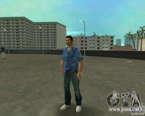 Tommy in HD + neues Modell für GTA Vice City zweiten Screenshot