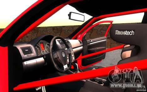VolksWagen Golf GTI MK5 für GTA San Andreas Seitenansicht