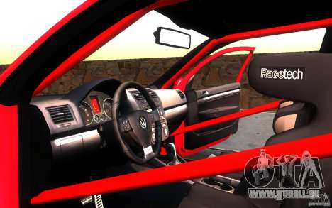VolksWagen Golf GTI MK5 pour GTA San Andreas vue de côté