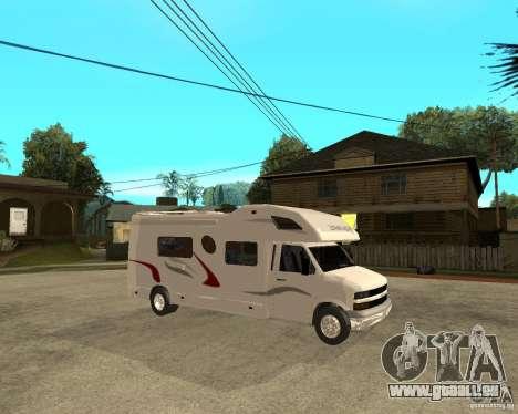 Chevrolet Camper pour GTA San Andreas vue de droite