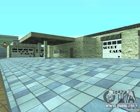 HD Garage de Doherty pour GTA San Andreas