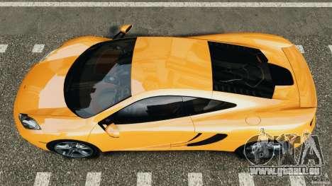 McLaren MP4-12C v1.0 [EPM] pour GTA 4 est un droit