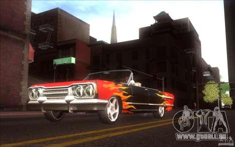 Savanna HD pour GTA San Andreas vue arrière