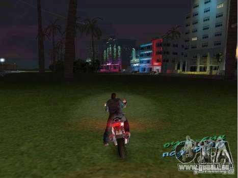 Ducati Supersport 1000 DS pour une vue GTA Vice City de la gauche