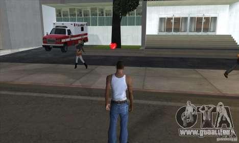 Trousses de premiers soins pour GTA San Andreas quatrième écran
