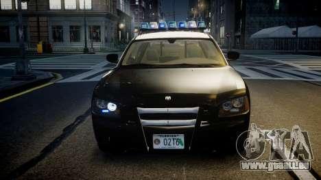 Dodge Charger Florida Highway Patrol [ELS] pour GTA 4 est un côté