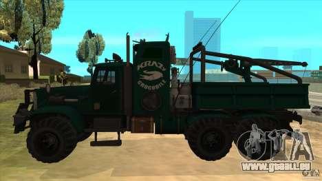KrAZ 255 B1 Krazy-Crocodile pour GTA San Andreas laissé vue