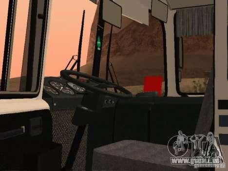 RAINURE 32054 pour GTA San Andreas vue intérieure
