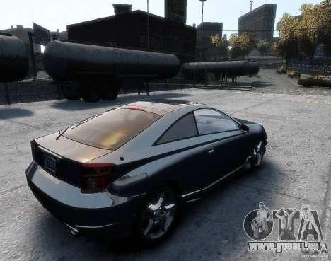 Toyota Celica pour GTA 4 est une gauche