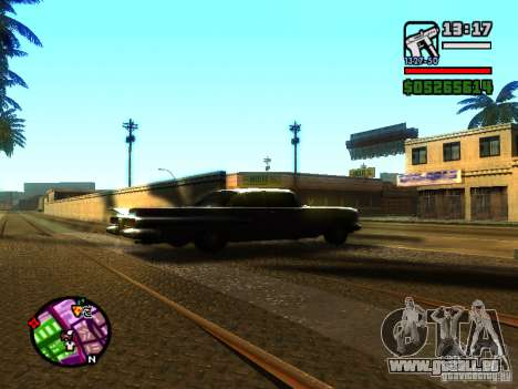 ENBSeries v2 pour GTA San Andreas troisième écran