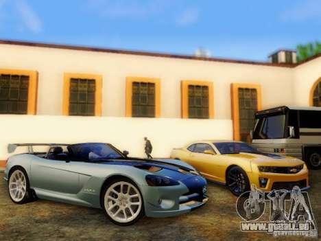 Dodge Viper SRT-10 Roadster ACR 2004 für GTA San Andreas rechten Ansicht