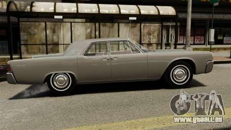 Lincoln Continental 1962 für GTA 4 linke Ansicht