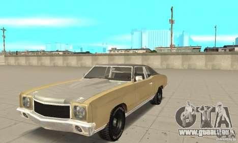 Chevy Monte Carlo [F&F3] für GTA San Andreas