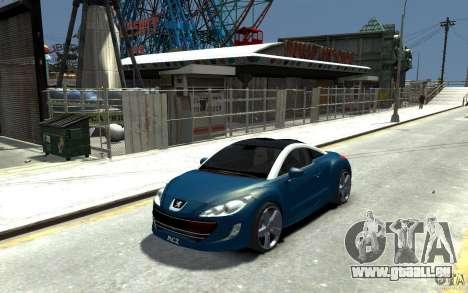 Peugeot 308 RC Z 2010 pour GTA 4