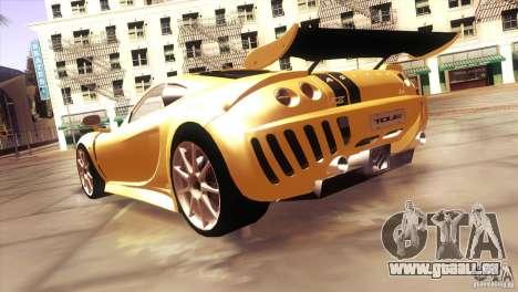 Ascari A10 pour GTA San Andreas sur la vue arrière gauche