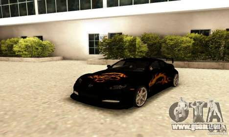Mazda RX-8 pour GTA San Andreas vue de dessus