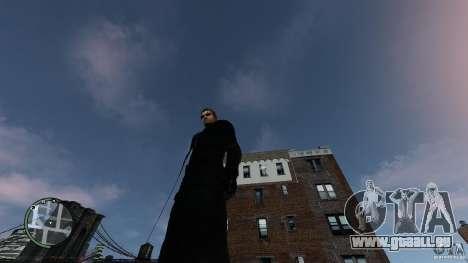 RE5 Wesker pour GTA 4 troisième écran