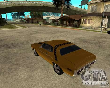 1971 Plymouth Roadrunner 440 für GTA San Andreas linke Ansicht