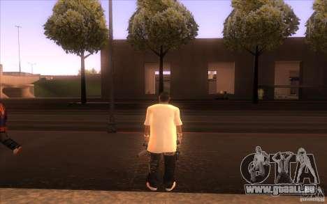 Nouvelle peau pour GTA San Andreas deuxième écran