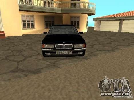 BMW 740I E38 (RUS) für GTA San Andreas