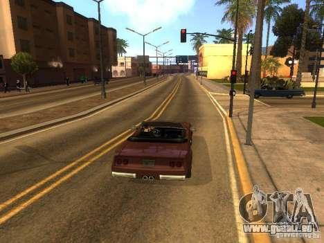 Feltzer von GTA Vice City für GTA San Andreas Rückansicht