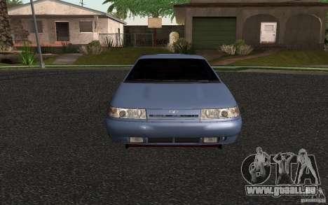 VAZ 2111 pour GTA San Andreas sur la vue arrière gauche