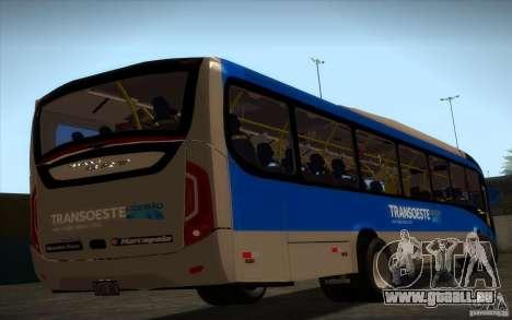 Marcopolo Viale BRT 0500M pour GTA San Andreas laissé vue