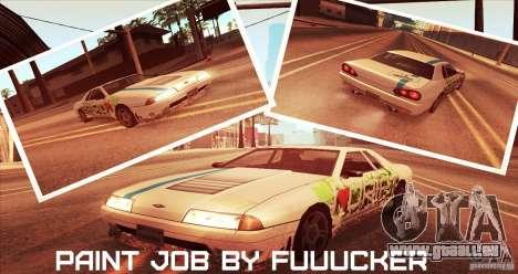 Paintjob for Elegy pour GTA San Andreas