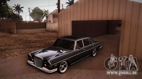 Mercedes Benz 300 SEL - Custom RC3D Edit pour GTA San Andreas vue de côté