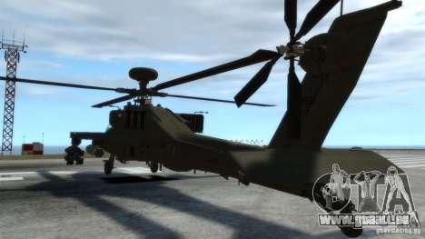 AH-64D Longbow Apache v1.0 pour GTA 4 est une vue de l'intérieur