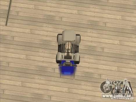 Forklift extreem v2 für GTA San Andreas Rückansicht
