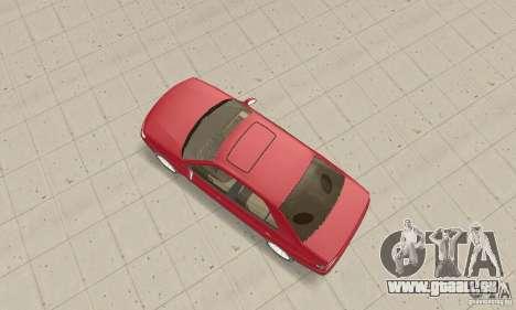 Peugeot 406 stock pour GTA San Andreas vue de droite