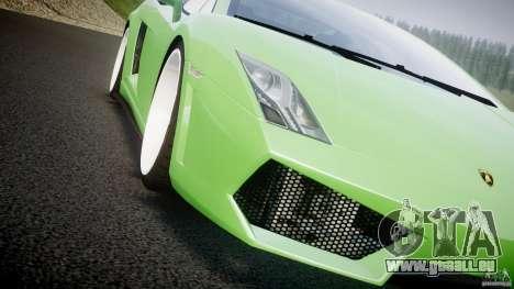 Lamborghini Gallardo LP 560-4 DUB Style pour GTA 4 est une vue de dessous